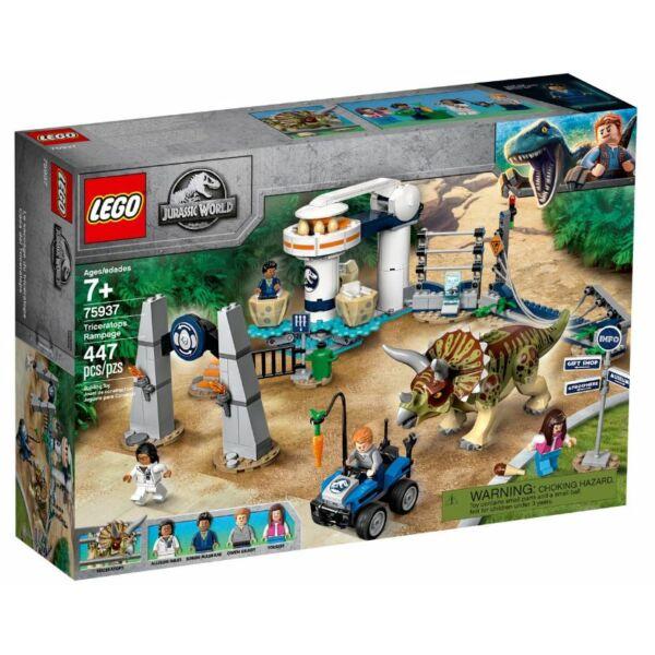 LEGO Jurassic World - Triceratops tombolás 75937