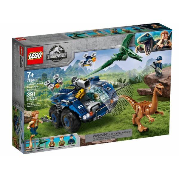 LEGO Jurassic World - Gallimimus és Pteranodon kitörése 75940