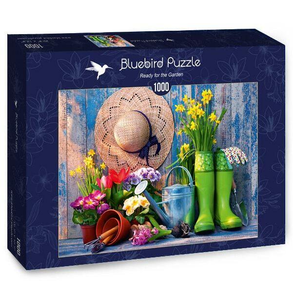 Ready for the Garden - Bluebird 70299-P - 1000 db-os puzzle