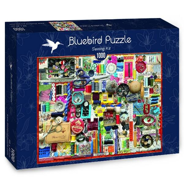 Sewing Kit - Bluebird 70479 - 1000 db-os puzzle