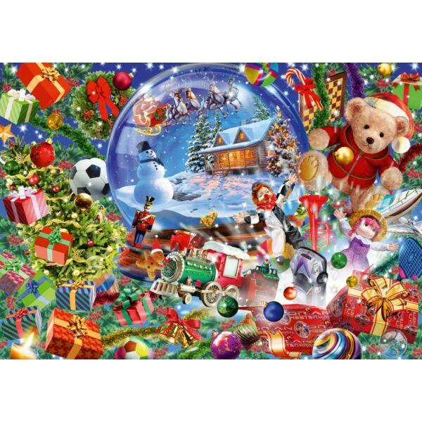 Christmas Globe - Bluebird 70236-P - 1000 db-os puzzle