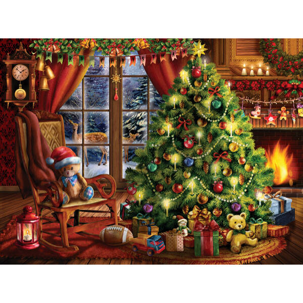Christmas Memories - Tom Wood - SunsOut 28846 - 1000 db-os puzzle