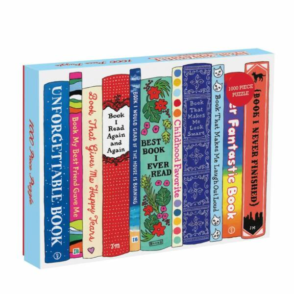 Ideal Bookshelf - Galison - 1000 db-os puzzle