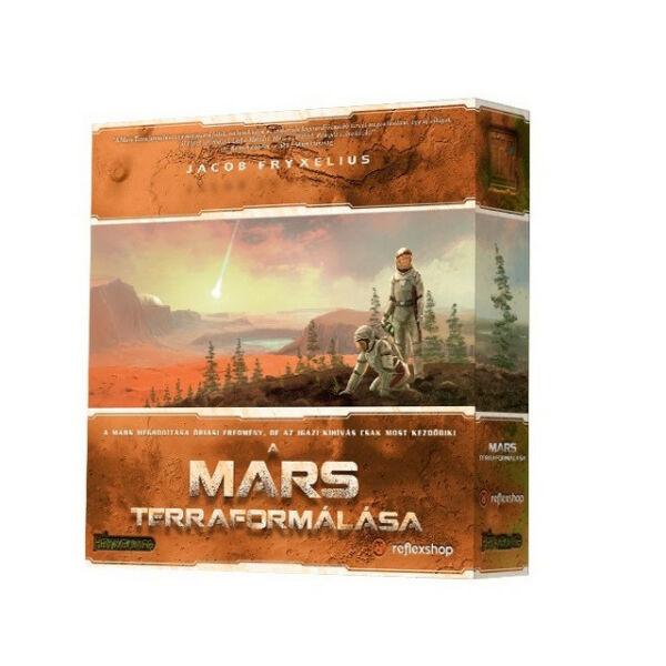 A Mars terraformálása - stratégiai társasjáték 12 éves kortól - Egyszerbolt társasjáték