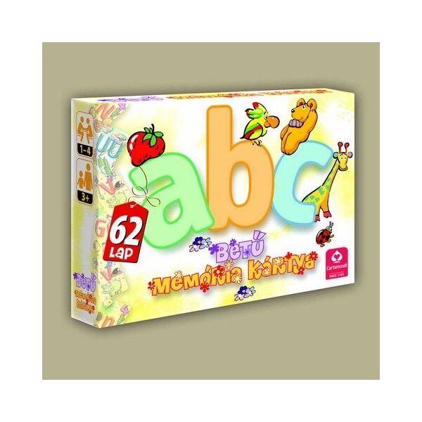 ABC betű memória kártya ÚJ Design - Egyszerbolt Társasjáték Webáruház