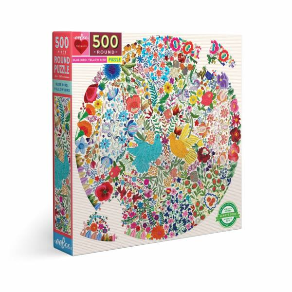 Blue Bird Yellow Bird 500 db-os puzzle - Egyszerbolt Társasjáték