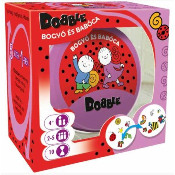 Dobble Bogyó és Babóca - gyerek és családi társasjáték 4 éves kortól - Asmodee - Egyszerbolt