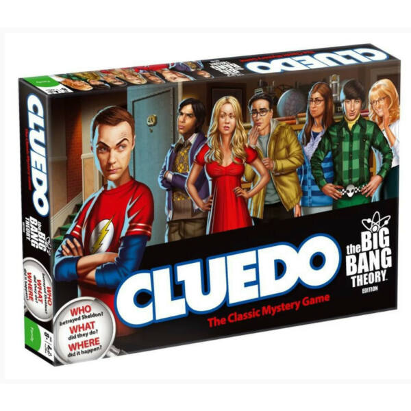 Cluedo - Agymenők - stratégiai társasjáték 9 éves kortól - EgyszerBolt Társasjáték