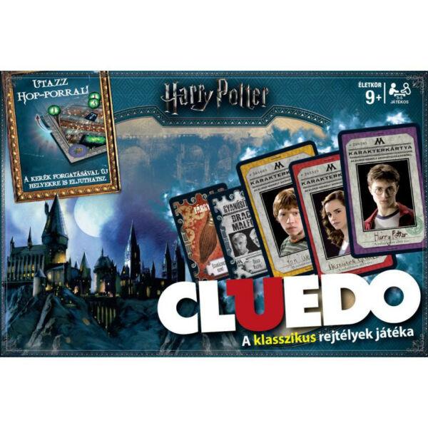 Cluedo - Harry Potter - stratégiai társasjáték 9 éves kortól - EgyszerBolt Társasjáték