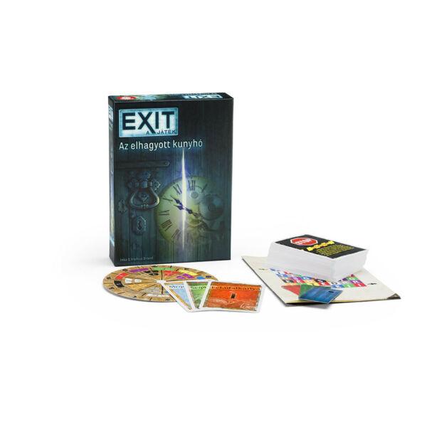 Exit 1 - Az elhagyott kunyhó - szabadulós játék 12 éves kortól - Egyszerbolt Társasjáték
