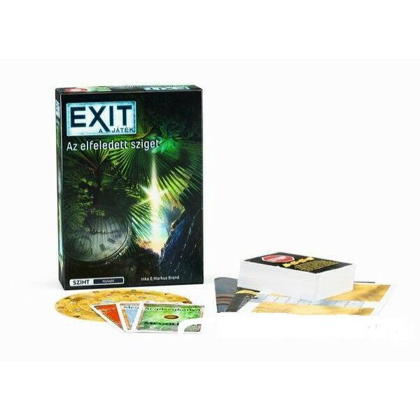 Exit 4 -Elfeledett sziget - szabadulós játék 12 éves kortól - Egyszerbolt Társasjáték