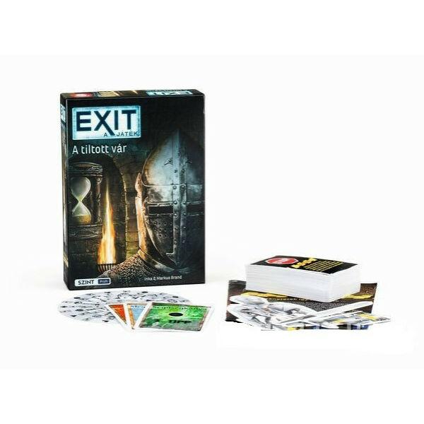 Exit 5 - A tiltott vár - szabadulós játék 12 éves kortól - Egyszerbolt Társasjáték
