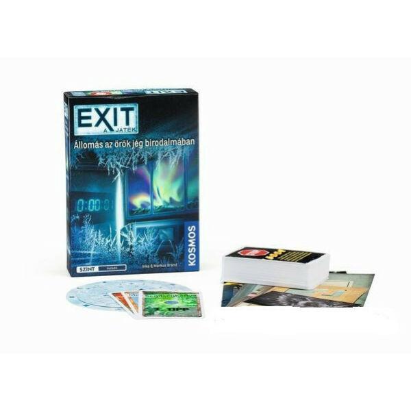 Exit 6 - Állomás az örök jég birodalmában - szabadulós játék 12 éves kortól - Egyszerbolt Társasjáték