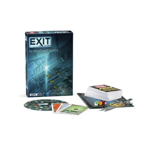 Exit 8 - Az elsüllyedt kincs - szabadulós játék 12 éves kortól - Egyszerbolt Társasjáték