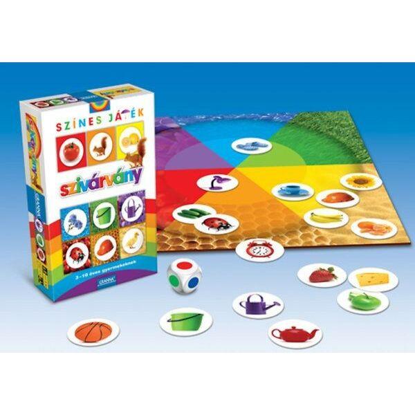 Szivárvány játékvariációk színekkel - képességfejlesztő társasjáték 3 - 10 éves korig - Granna - Egyszerbolt
