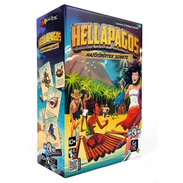 Hellapagos kooperatív társasjáték 8 éves kortól - Egyszerbolt Társasjáték Webáruház