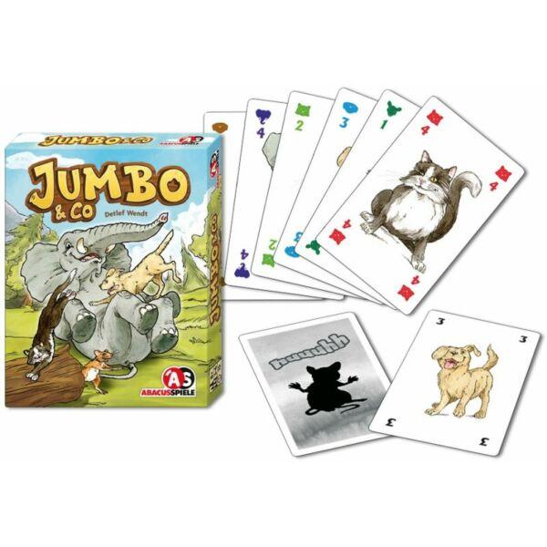 Jumbo&Co - családi és gyerek társasjáték 8 éves kortól - Abacusspiele