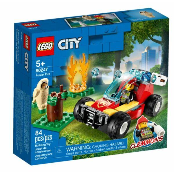 LEGO City Fire - Erdőtűz 60247