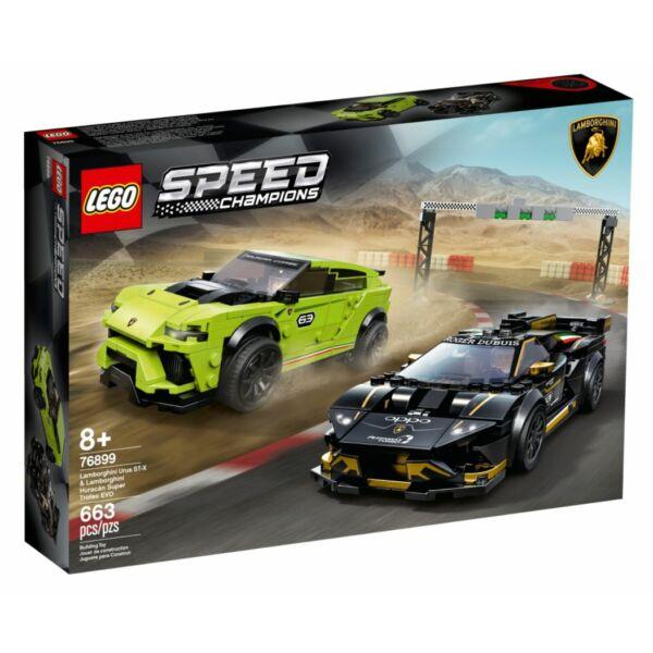 LEGO Speed Champions - Lamborghini urus ST-X & Lamborghini Hura 76899