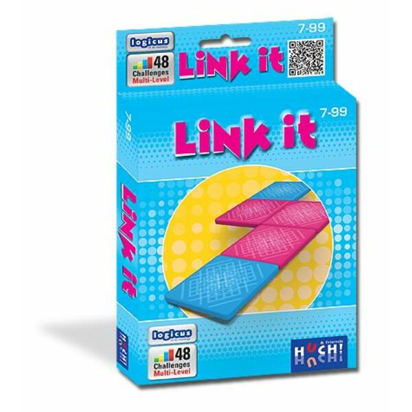 Link it - úti, gyerek logikai társasjáték 7 éves kortól - Hutter