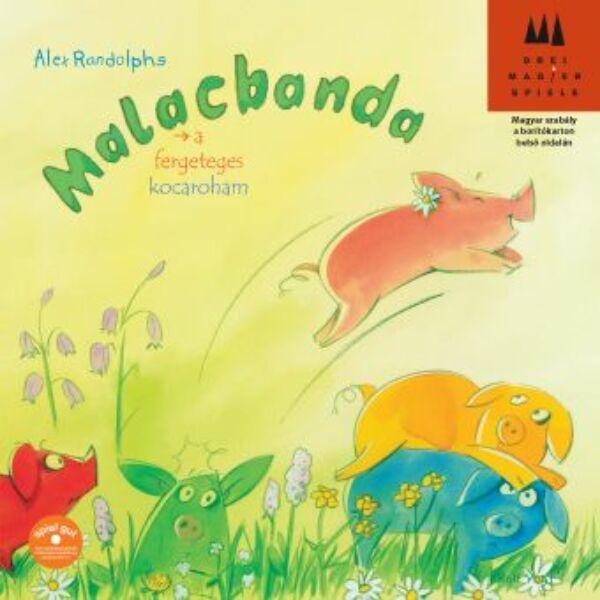 Malacbanda - Rüsselbande - gyerek társasjáték 4 éves kortól - Drei Magier Spiele