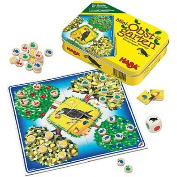 Mini Gyümölcsöskert - társasjáték 3 - 6 éves korig - HABA - Egyszerbolt