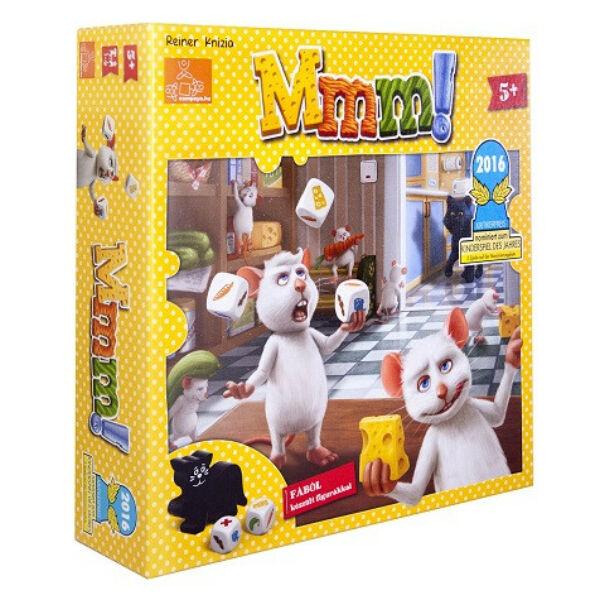Mmm! - kooperatív játék 5 éves kortól - Egyszerbolt Társasjáték Webáruház