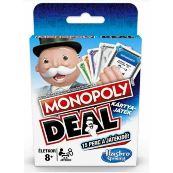 Monopoly Deal - Keverj, rabolj, nevess! - kártyajáték - Egyszerbolt Társasjáték Webáruház