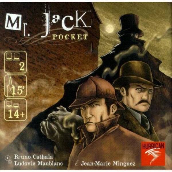 Mr. Jack Pocket  startégiai, úti társasjáték - Egyszerbolt Társasjáték Webáruház