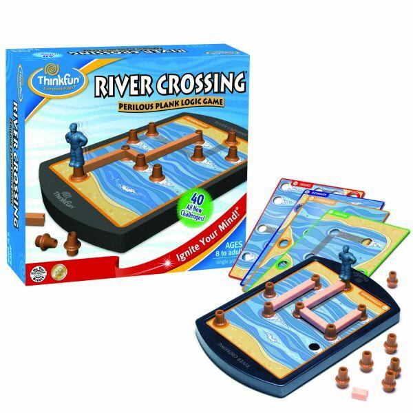 River Crossing - logikai képességfejlesztő társasjáték 8 éves kortól - ThinkFun
