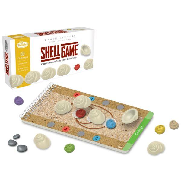 Shell Game - Brain Fitness - logikai képességfejlesztő társasjáték 8 éves kortól - ThinkFun