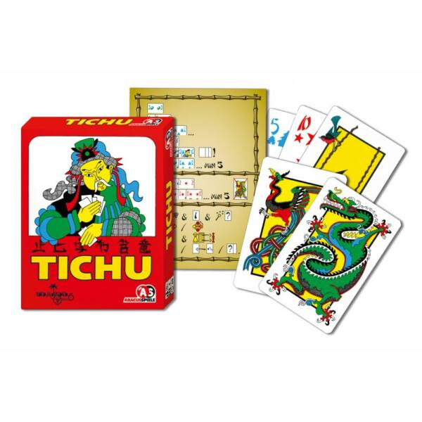 Tichu - családi és gyerek társasjáték 10 éves kortól - Abacusspiele