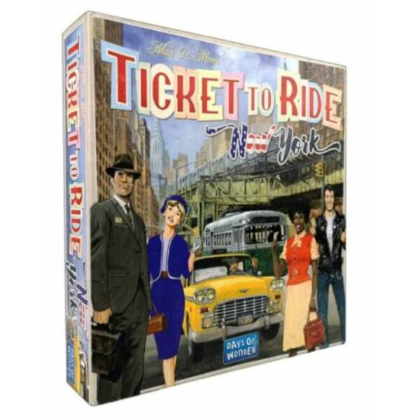 Ticket to Ride New York - stratégiai társasjáték 8 éves kortól - Days Of Wonder