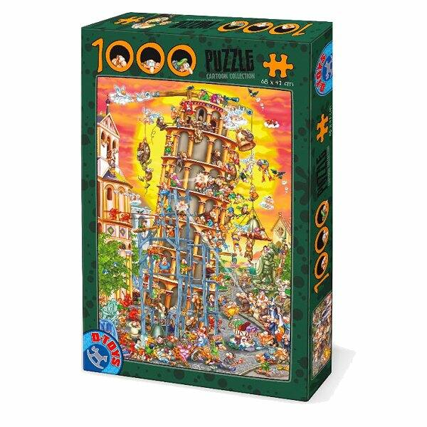 Pisa Tower - Dtoys 61218 - 1000 db-os puzzle