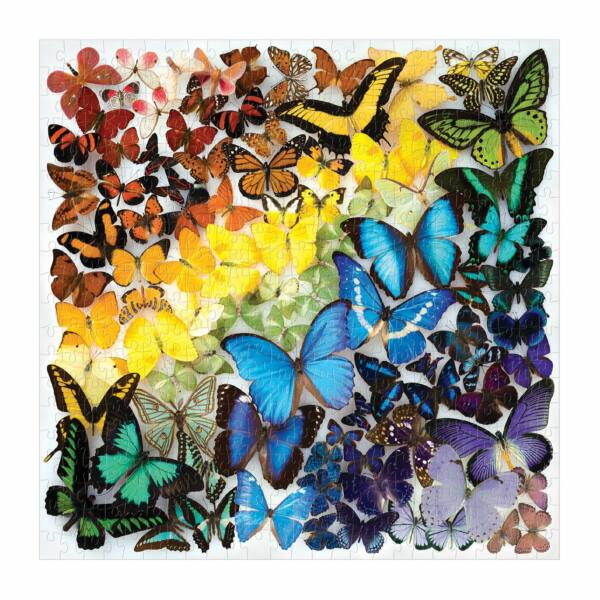 Rainbow Butterflies 500 db-os puzzle