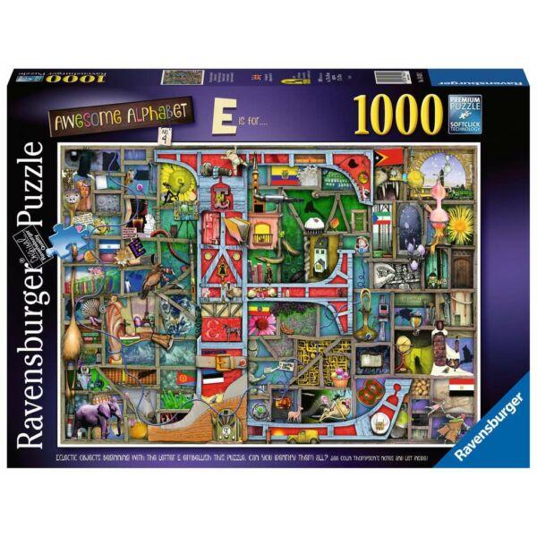 Ravensburger 16420 - Varázslatos ABC E - 1000 db-os puzzle - Colin Thompson