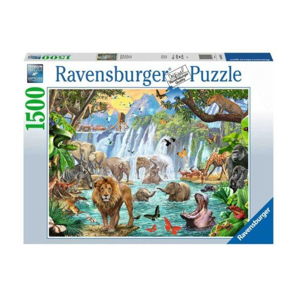 Ravensburger 16461 - Szafari a vízesésnél - 1500 db-os puzzle