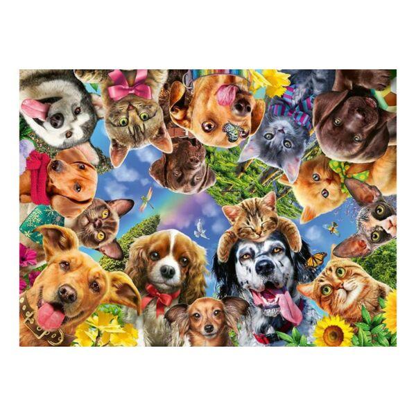 Ravensburger 15042 - Állati arcok- 500 db-os puzzle