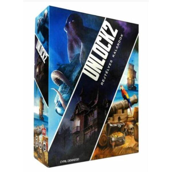 Unlock 2 - szabadulós játék 10 éves kortól